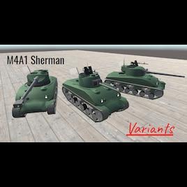 Steam Workshop :: M4A1 Sherman Variants