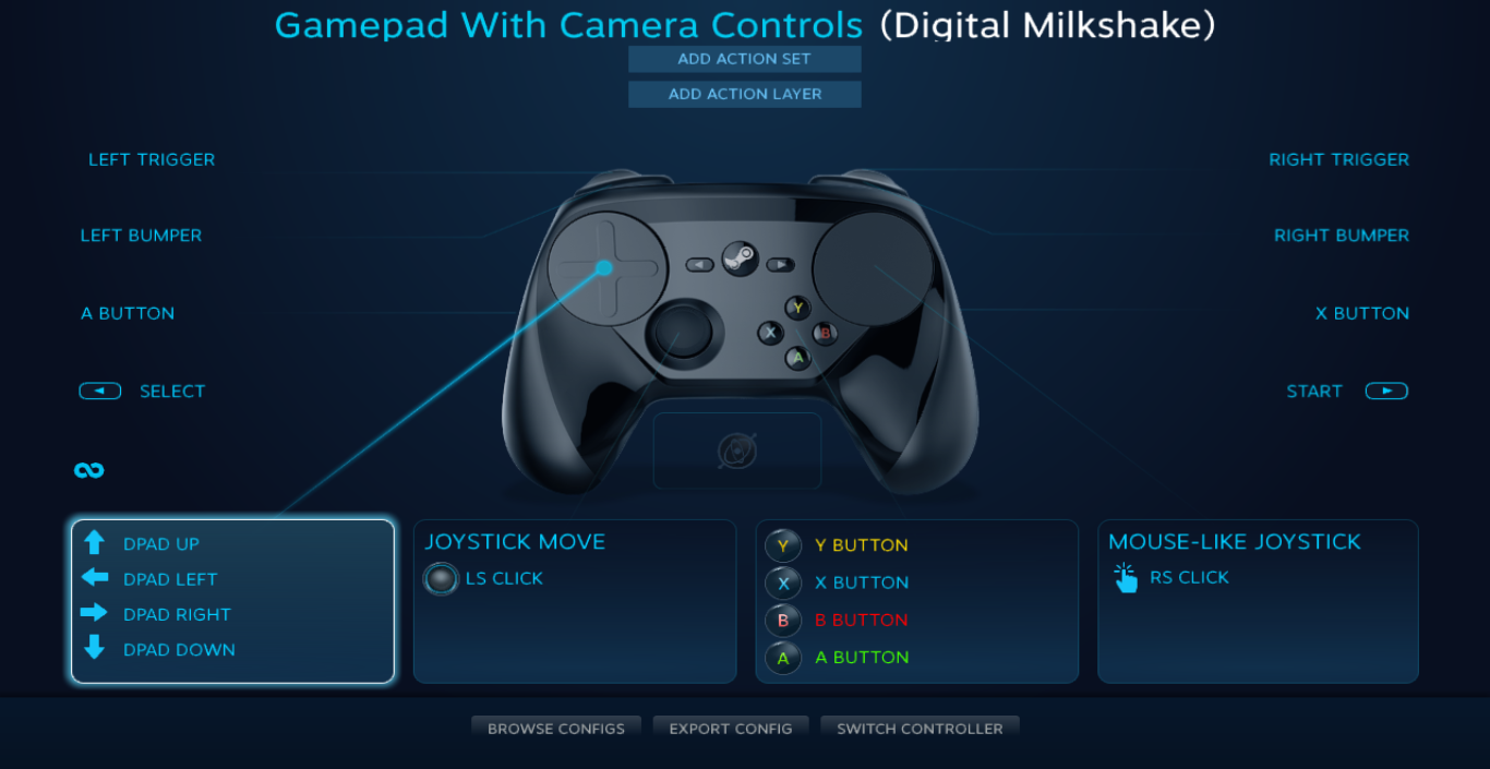 ps3 controller setting