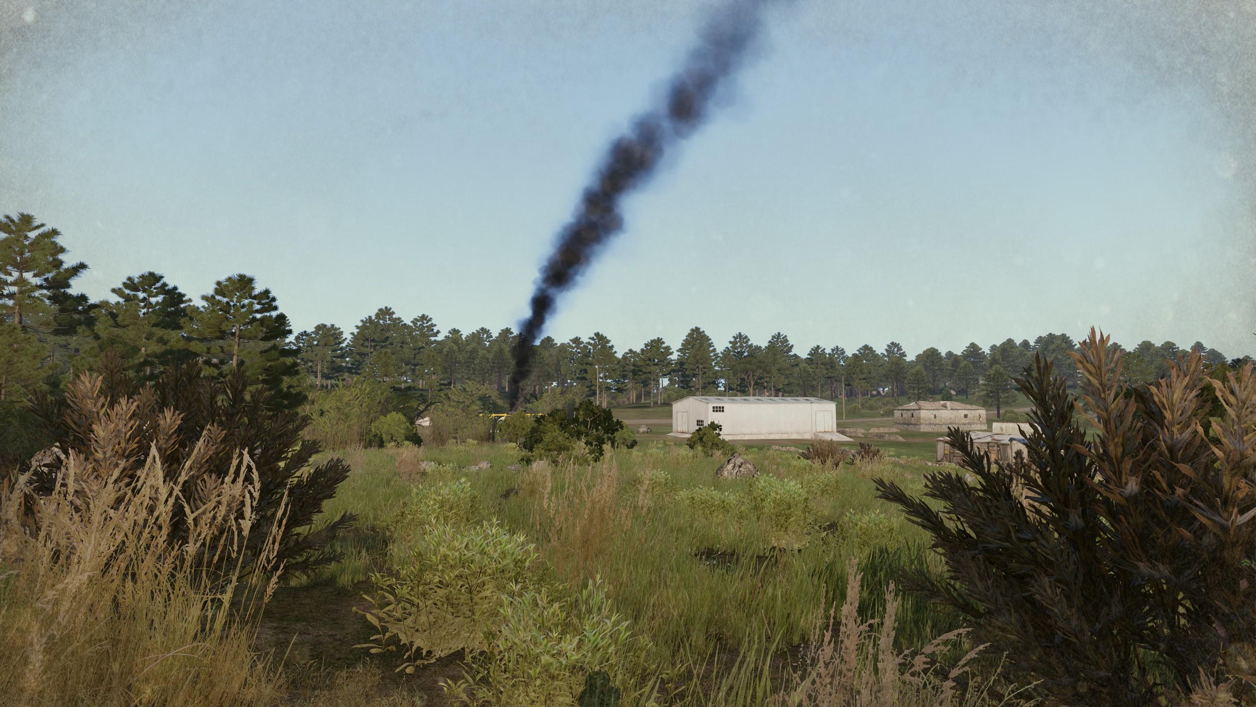 rauchender russischer Fueltruck