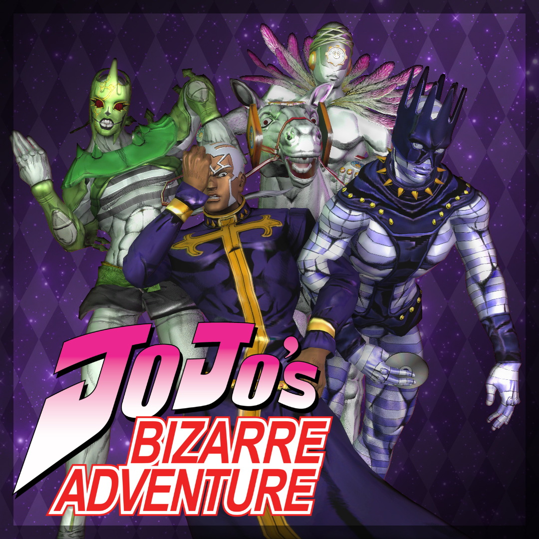 Steam Workshop Jjba Pucci And Stands Playermodels