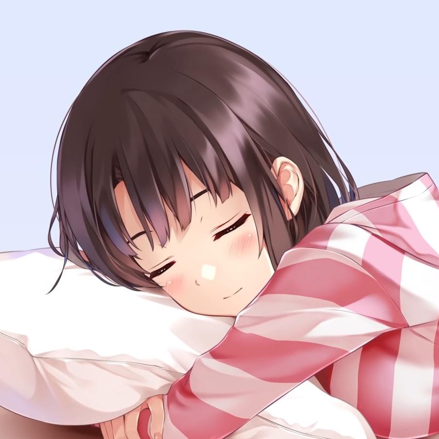 加藤惠(Megumi Katō) sleeping loop (1080P)