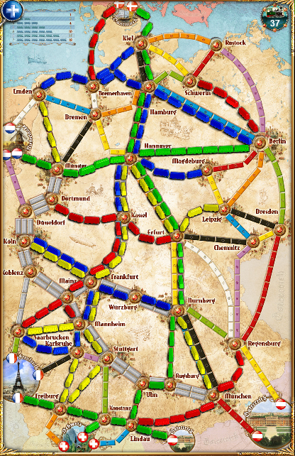 Ticket To Ride India Map.Steam Community Ticket To Ride