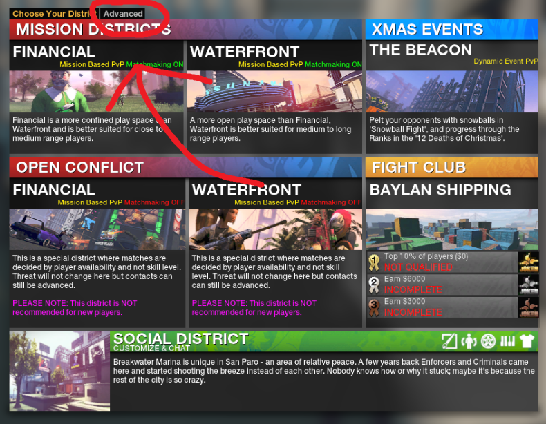 APB Reloaded matchmaking off