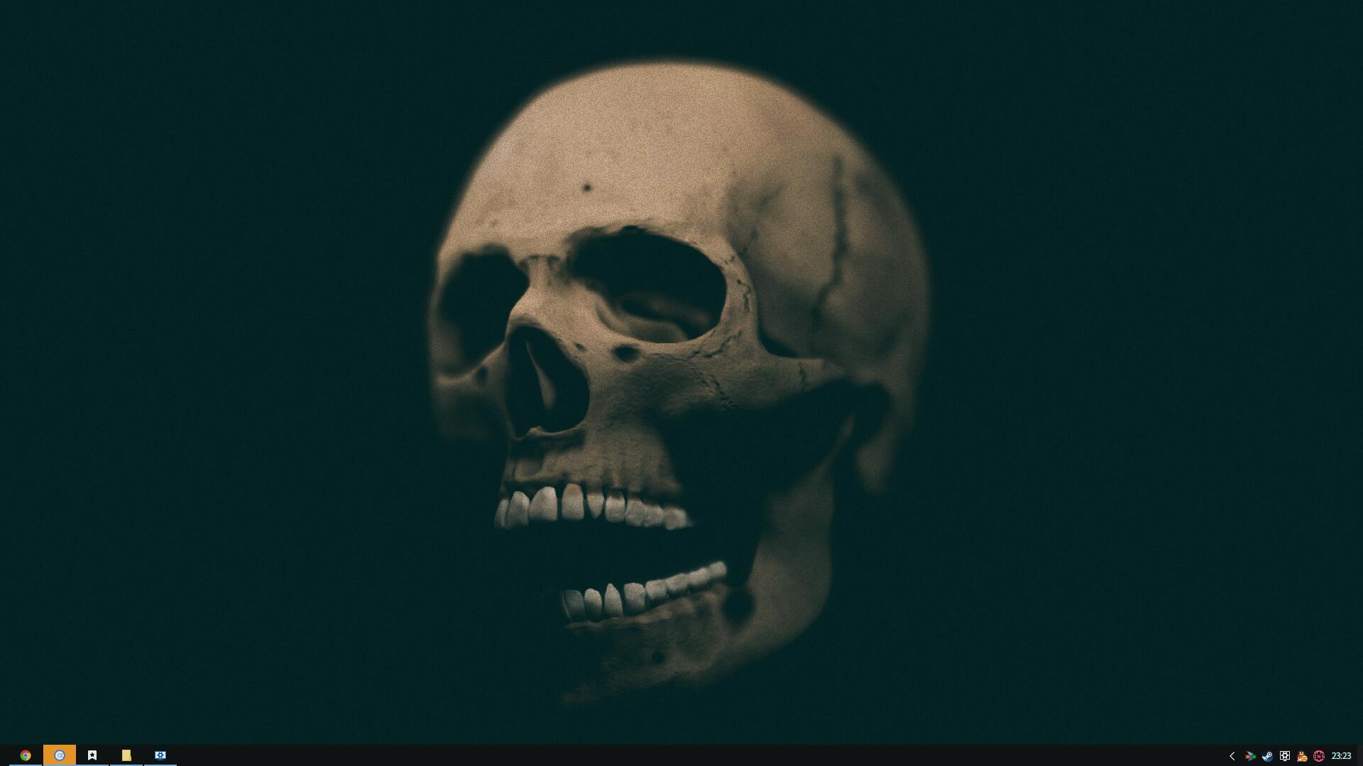 Interactive Skull 3D Wallpaper Engine