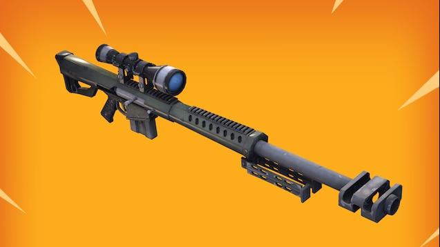 Steam Workshop :: Fortnite -  50 Caliber Sniper Rifle