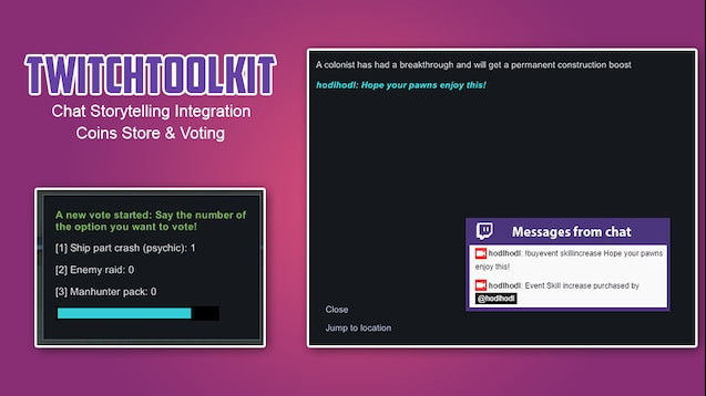 Steam Workshop :: [OLD] TwitchToolkit