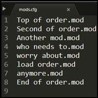 Steam Community :: Guide :: How to save/edit load order