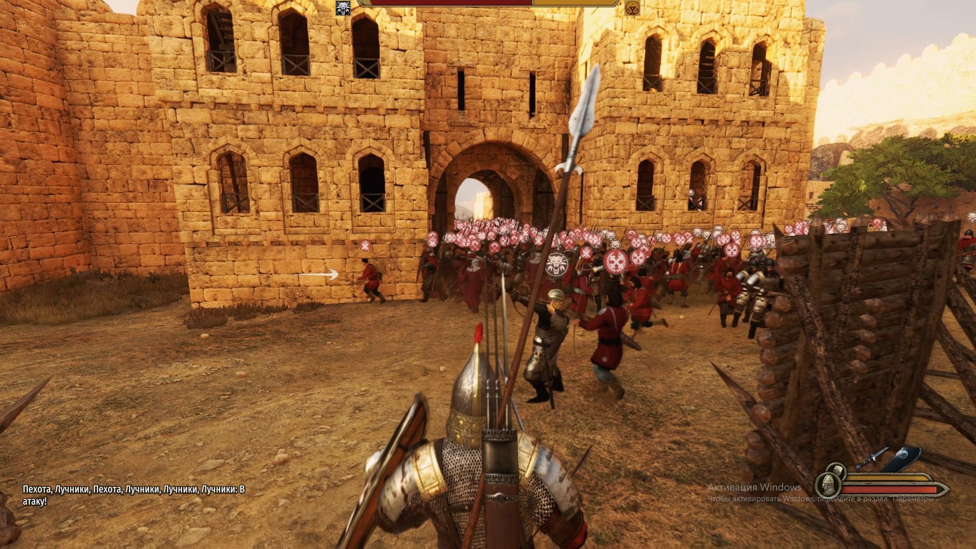 Как захватить замок в Bannerlord?